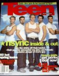 Chris Kirkpatrick, J.C. Chasez, Justin Timberlake, Lance Bass on the cover of Teen (United States) - April 2000
