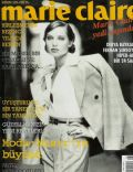 Eysan Özhim on the cover of Marie Claire (Turkey) - November 1995