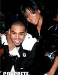 Chris Brown and Lil mama