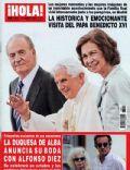 Hola! Magazine [Spain] (31 August 2011)