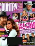 Carrie Underwood, Faith Hill, Faith Hill and Tim McGraw, George Strait, Keith Urban, Tim McGraw on the cover of Country Weekly (United States) - January 2007