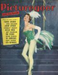 Noëlle Adam on the cover of Picturegoer (United Kingdom) - April 1959