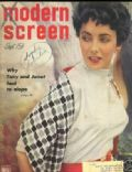 Elizabeth Taylor on the cover of Modern Screen (United States) - September 1951