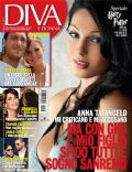 Anna Tatangelo on the cover of Diva E Donna (Italy) - November 2010