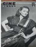 Olivia de Havilland on the cover of Cine Revue (France) - October 1948