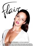 Karmen Pedaru on the cover of Flair (Italy) - March 2013