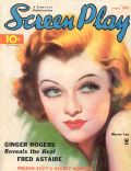 Myrna Loy on the cover of Screen Play (United States) - September 1935