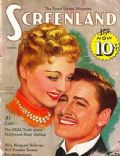 Bette Davis, Errol Flynn, Errol Flynn and Bette Davis on the cover of Screenland (United States) - December 1938