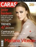 Mariana Vicente on the cover of Caras (Puerto Rico) - August 2010