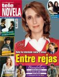 Carmen Beato, Cielo Rojo on the cover of Tele Novela (Spain) - May 2012
