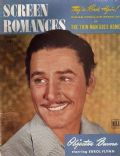 Errol Flynn on the cover of Screen Romances (United States) - February 1945