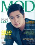 Coco Martin on the cover of Mod (Philippines) - February 2013
