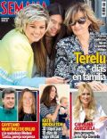 Terelu Campos on the cover of Semana (Cyprus) - April 2014
