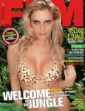 Filipa De Castro on the cover of Fhm (Portugal) - April 2009