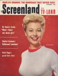 Mitzi Gaynor on the cover of Screenland (United States) - January 1959