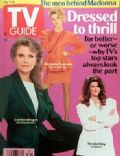 Candice Bergen, Kirstie Alley, Nicollette Sheridan on the cover of TV Guide (United States) - August 1990