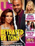 Eva Longoria, Eva Longoria and Tony Parker, Tony Parker on the cover of Us Weekly (United States) - November 2010