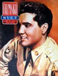 Elvis Presley on the cover of Filmski Svet (Yugoslavia Serbia and Montenegro) - February 1961