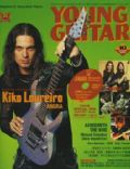 Kiko Loureiro on the cover of Young Guitar (Japan) - October 2004