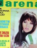 Joan Collins on the cover of Arena (Yugoslavia Serbia and Montenegro) - September 1972
