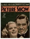 Clark Gable on the cover of Picture Show (United Kingdom) - November 1937
