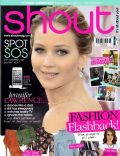 Jennifer Lawrence on the cover of Shout (United Kingdom) - November 2013