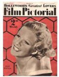 Jean Harlow on the cover of Film Pictorial (United Kingdom) - February 1933