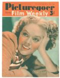 Alice Faye on the cover of Picturegoer (United Kingdom) - March 1941