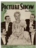 Alice Faye on the cover of Picture Show (United Kingdom) - September 1940