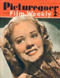Alice Faye on the cover of Picturegoer (United Kingdom) - March 1940