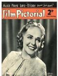 Alice Faye on the cover of Film Pictorial (United Kingdom) - June 1938