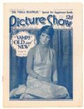 Clara Bow on the cover of Picture Show (United Kingdom) - January 1927
