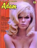 Stella Stevens on the cover of Adam (United States) - January 1967