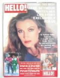 Jane Seymour on the cover of Hello (United Kingdom) - January 1989