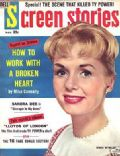 Debbie Reynolds on the cover of Screen Stories (United States) - March 1959