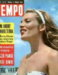 Belinda Lee on the cover of Tempo (Italy) - March 1959