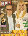 Susana Giménez, Woody Allen on the cover of Gente (Argentina) - May 1994