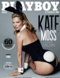Kate Moss on the cover of Playboy (Mexico) - January 2014
