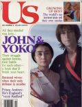 John Lennon, Yoko Ono on the cover of Us Magazine (United States) - December 1981