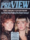 Barbra Streisand, Olivia Newton-John on the cover of Preview (United States) - September 1978