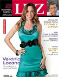 Nicolas Vazquez, Verónica Lozano on the cover of Luz (Argentina) - September 2009