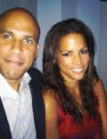 Veronica Webb and Cory Booker