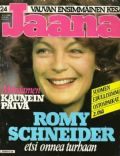 Romy Schneider on the cover of Other (Finland) - June 1982