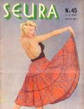 Marilyn Monroe on the cover of Seura (Finland) - November 1955