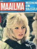Brigitte Bardot on the cover of Um Maailma (Finland) - April 1965