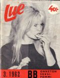 Brigitte Bardot on the cover of Other (Finland) - March 1962