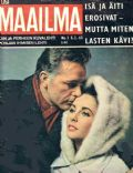 Elizabeth Taylor on the cover of Um Maailma (Finland) - February 1965