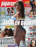 Marianela Mirra on the cover of Paparazzi (Argentina) - August 2008