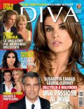 Elisabetta Canalis on the cover of Diva E Donna (Italy) - August 2009