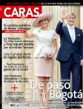 King Willem-Alexander Of The Netherlands, Princess Máxima of the Netherlands on the cover of Caras (Colombia) - December 2013